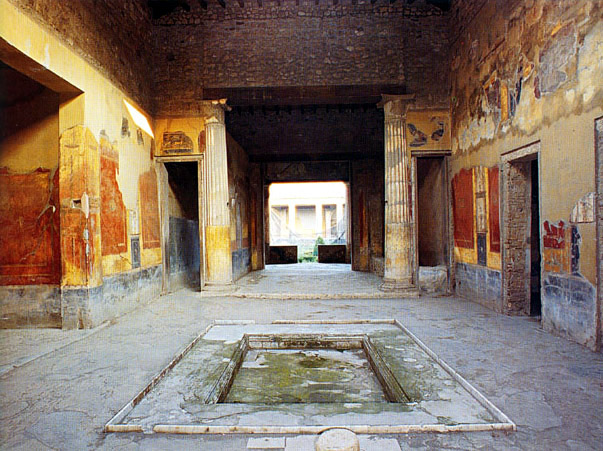 The House Of The Menander In The Excavations Of Pompeii