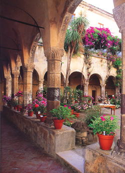 Sorrento walking  tour with TREDYTOURS: Saint Francis Cloister at Sorrento