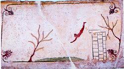 The Diver's Tomb of Paestum Museum