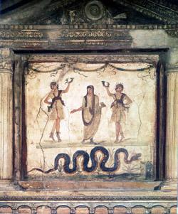 Lararium in the House of the Vettii