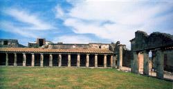 Stabian Baths at Pompeii