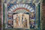 Mosaico di Ercolano rappresentante Poseidone ed Anfitrite