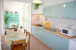 Sorrento apartment: The kitchen of Letizia apartment in Sorrento center