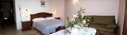 Positano Apartment: Bedroom of Ludovica Type B Apartment in Positano