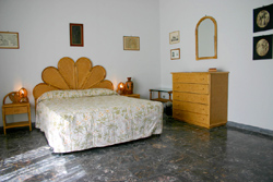 Sorrento Accommodation: The double bedroom of Chiara Accommodation in Sorrento