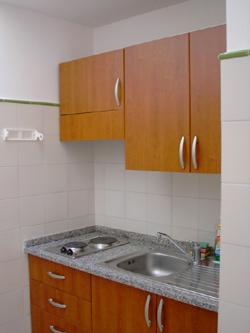 Positano Apartment: The kitchen of Ludovica Type B Apartment in Positano