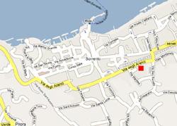 The exact location of  Letizia apartment