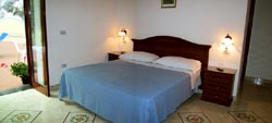 Positano Accommodation: The Bedroom of Romantica Accommodation in Positano