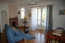 Living room of the Maiori Girasole apartment