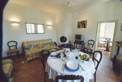 Living room of Casa Pinturicchio