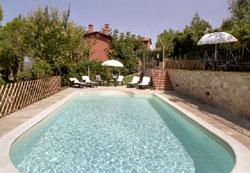 Swimming pool of Casa Pinturicchio