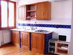 Florence Tuscany Flat: Kitchen of Cellini Flat