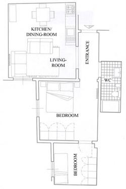 Florence Dwelling for Renat: Map of Latini Dwelling