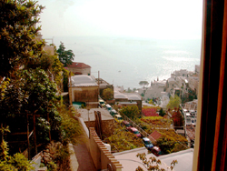 Apartment in Positano: Sea-view from the window of Ludovica Type A Apartment in Positano