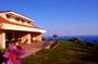 Hotel Amalfi Coast: Façade of the hotel Antico Parco del Principe along the Amalfi Coast