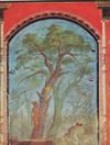 Fresco with Hercules in the Hesperides' gardens