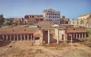 External view of the beautiful Roman villa